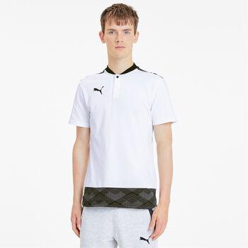 Puma teamFINAL 21 Casuals férfi póló Férfiak fehér