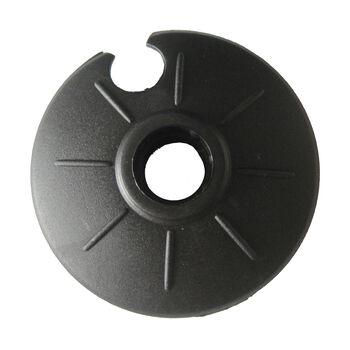 NOBRAND Univerzális tányér 60 mmStandard tányérrögzítős fekete