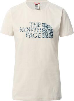 The North Face  S/S Easy Teenői póló Nők törtfehér