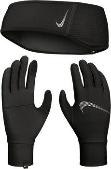 Nike Essential Wmn's Set fejpánt és kesztyű fekete