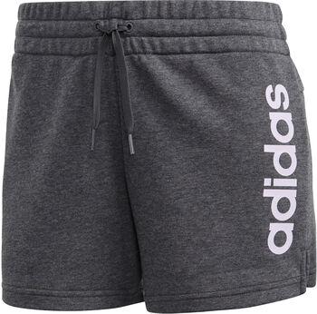 ADIDAS Essentials Linear Logo W női rövidnadrág Nők szürke