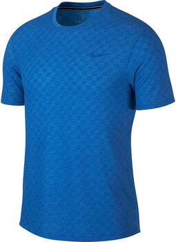 NikeCourt ChallengerShort-Sleeve Tennis Top kék