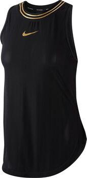 Nike W Nk Tank Glam női top Nők fekete