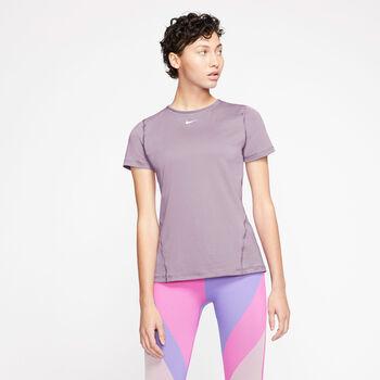 Nike Pro SS Mesh női póló Nők lila