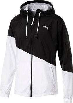 Puma A.C.E. Windbreaker férfi kapucnis kabát Férfiak fekete