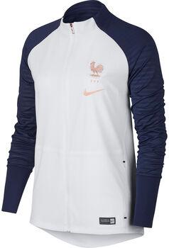 Nike FFF W Squad Soccer Jkt női cipzáras felső Nők fehér
