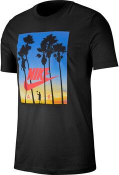 SS Tee Nike Air férfi póló Férfiak fekete