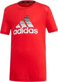 adidas YB TR PRIME TEE Fiú piros