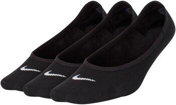 Nike Wmns Everyday Lightweight Footie zokni (3pár) Nők fekete