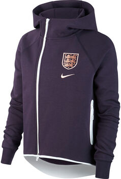 Nike England Tech Fleece Cape Nők lila