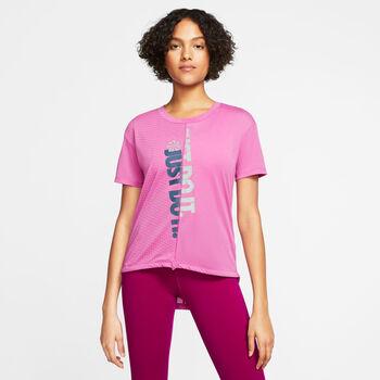 NIKE Női-T-shirt W NK Nők rózsaszín