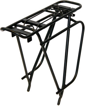 """KTM Racktime Snapit Cross 28"""" kerékpáros csomagtartó fekete"""