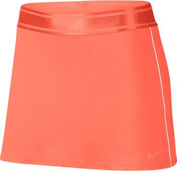 NikeCourt Dri-FIT Tennis Skirt Nők narancssárga