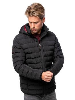 Heavy Tools Nack 20 férfi kapucnis kabát Férfiak fekete